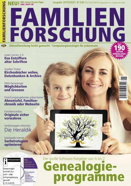 Familienforschung Ausgabe 2019-2020